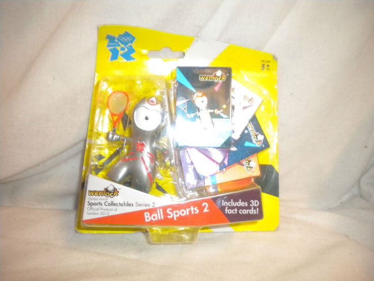 Olympic COLLECTABLE London 2012 Mascot WENLOCK - Ball Sports 2 with 3D Cards  | eBay