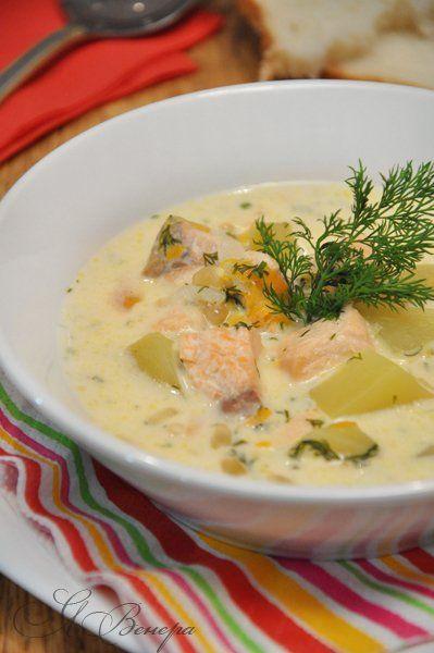 Нежный, сливочный, сырный, сытный рыбный суп. Большой плюс – готовится быстро, без всяких заморочек и доступный по ингредиентам. Филе рыбное (семга, лосось) —…