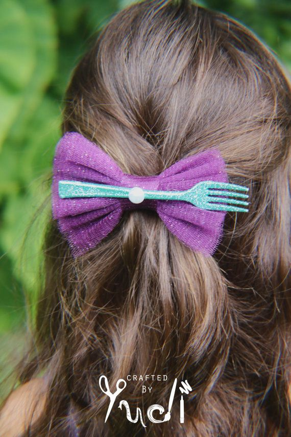 Mermaid Hair Clip Party Favor Mermaid Party Favor by CraftedByYudi, I can totally do this