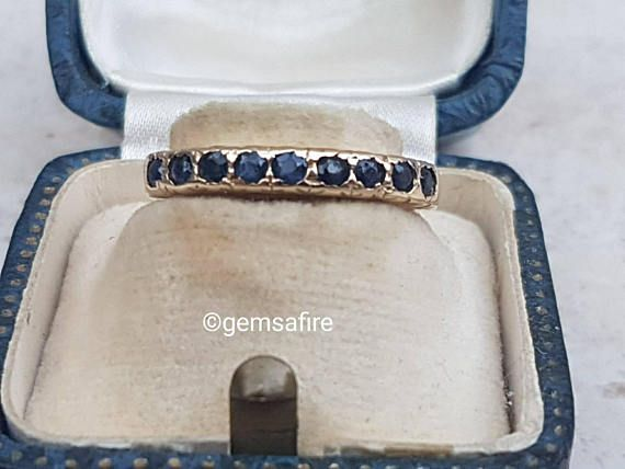 Check out this item in my Etsy shop https://www.etsy.com/uk/listing/581745774/fabulous-nine-stone-sapphire-stacking
