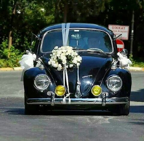 55 Best Vintage Bridal Car Decoration Images On Pinterest Car