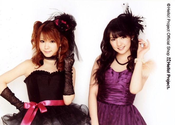 Tanaka Reina & Michishige Sayumi (cute!)