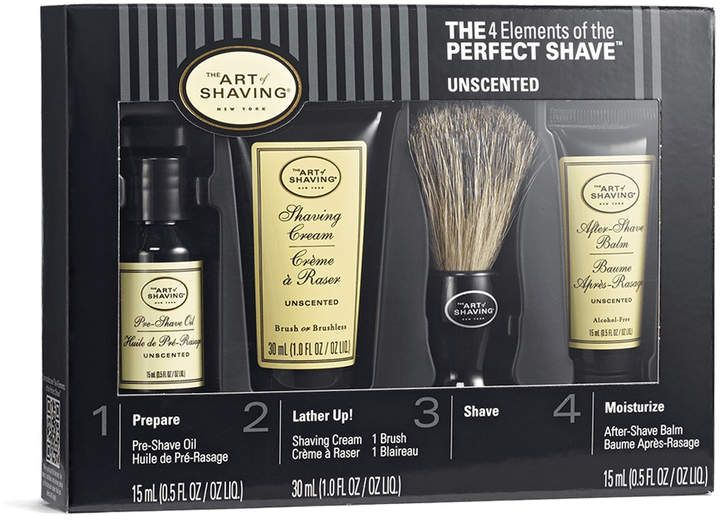 Unscented Perfect Shave Starter Kit The Art Of Shaving Shaving Unscented