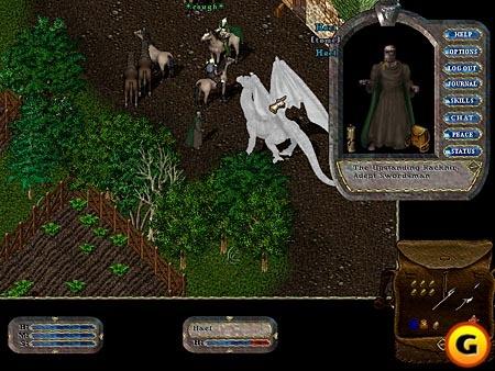Ultima Online [PC]/最初のオンラインゲーム体験。ついに未来が来たと思いました。あと、このゲームのことを思い出すと、「テレホーダイ」という単語が思い浮かびますねw