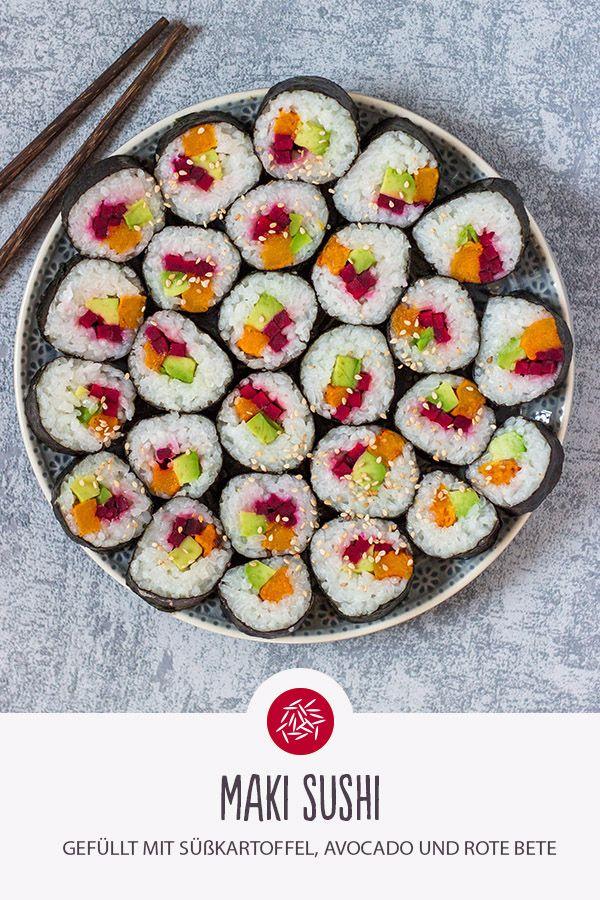 Maki Sushi Rezept In 2020 Rezepte Sushi Und Sushi Essen