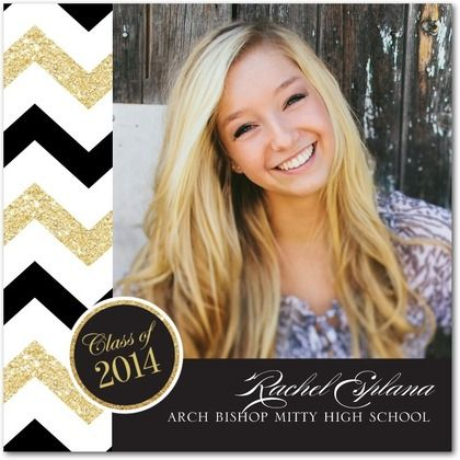 17 Best images about Graduation – Black and Gold Graduation Invitations
