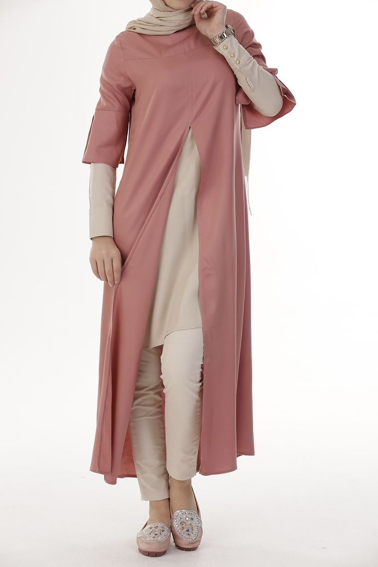 SOMON TUNIK - 50590 | ALLDAYWOMENS FASHION :  NIQAB ,‫نِقاب‬‎‎ , ABAYA , ‫عباية‬‎‎ ,عباءةʿ عبايات ʿعباءاتʿ , ABA , HIJAB , ‫حجاب‬‎‎ More Pins Like This At FOSTERGINGER @ Pinterest