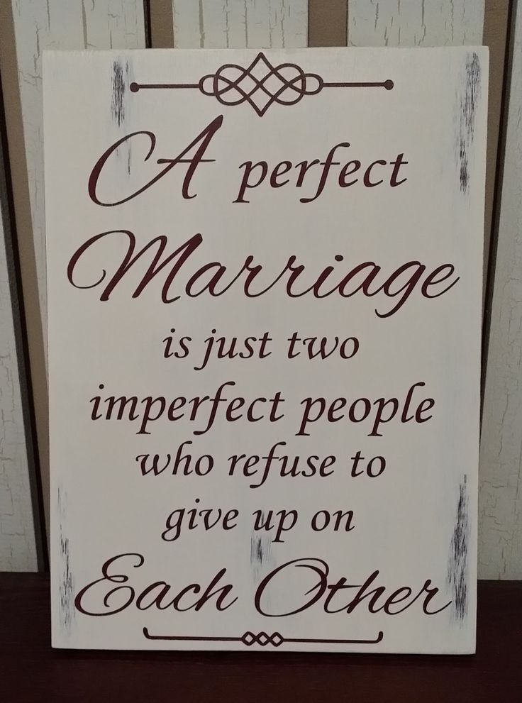 Anniversary, Valentines, Wedding, Birthday - Gift for Him or Her - A Perfect Marriage Rustic Sign.