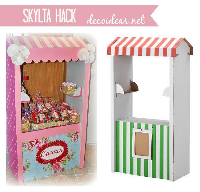 Tienda de cart n ikea personalizada skylta ikeahack - Decoracion infantil ikea ...