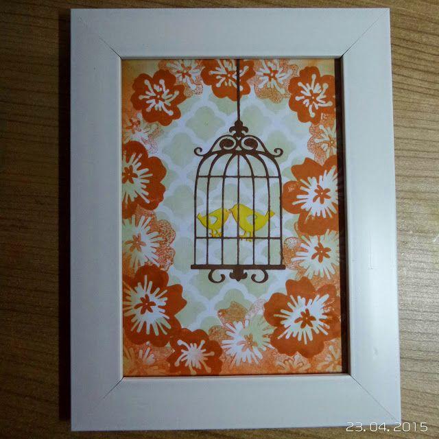 BellesCreations.gr: Birds in the garden