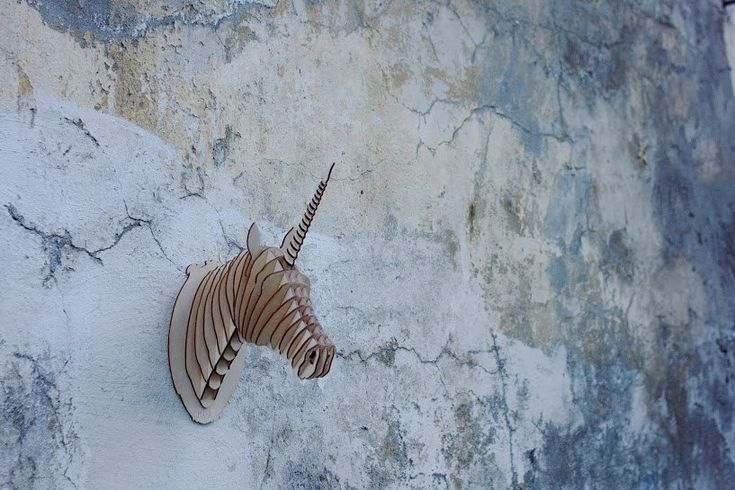 Wooden unicorn, 3D animals, unicorn by YOURMAYA on Etsy