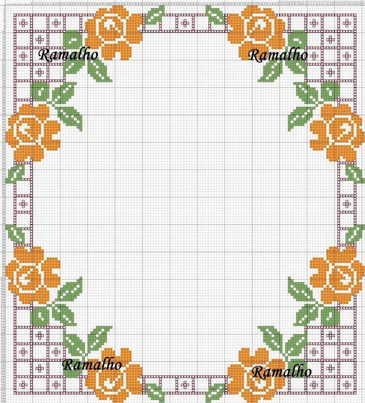 Ramalho C: Quadrado de rosas