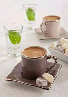 Türk Kahvesi ve Lokum ...
