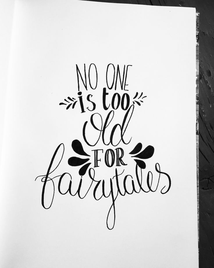 No one is too old for fairytales ✨