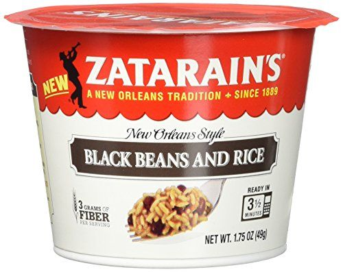Zatarains Quick Cup Black Bean and Rice 12 Count Pack of 12 -- Check out the image by visiting the link.Note:It is affiliate link to Amazon.