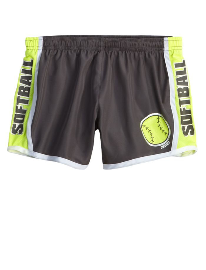 Justice softball shorts is what I've been searching for!