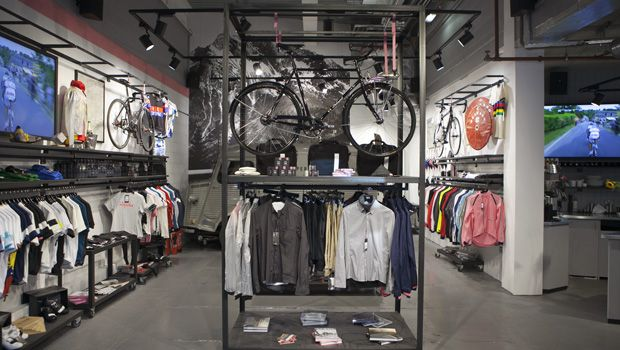 """Located in the heart of Soho on the site formerly occupied by the Regent Palace Hotel, the first permanent Rapha Cycle Club in the UK is the new home for the sport and wider culture of road racing."" —Rapha Cycle Club London"