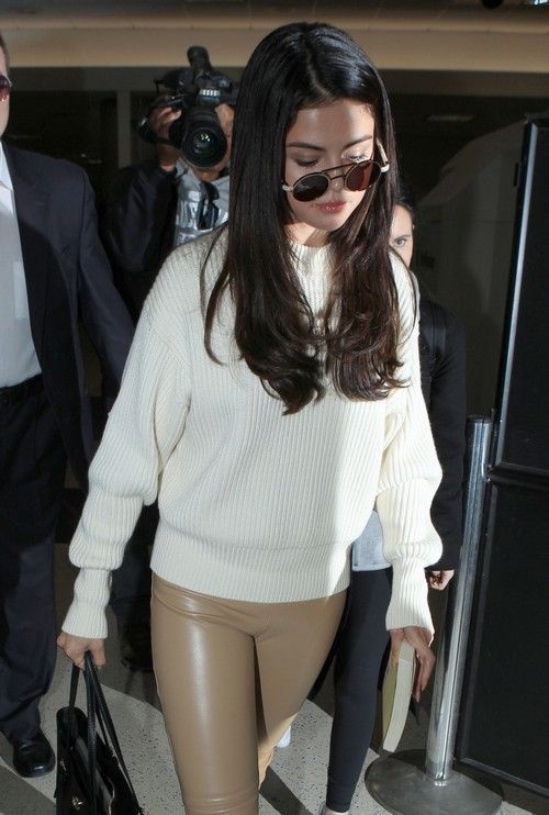 Selena Gomez LAX Sighting: Looks Happy And Healthy Following Rehab Stay For Depression And Anxiety