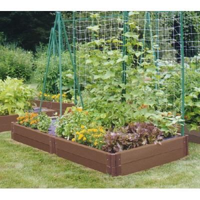 Raised Vegetable Garden Design vegetable gardens Raised Beds With Homemade Trellis Small Vegetable Gardensvegetable Garden Designsmall