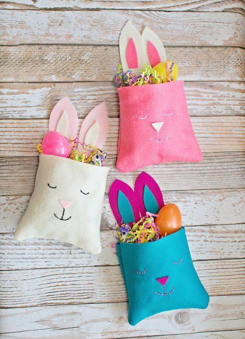 Little Felt Bunny DIY Bag