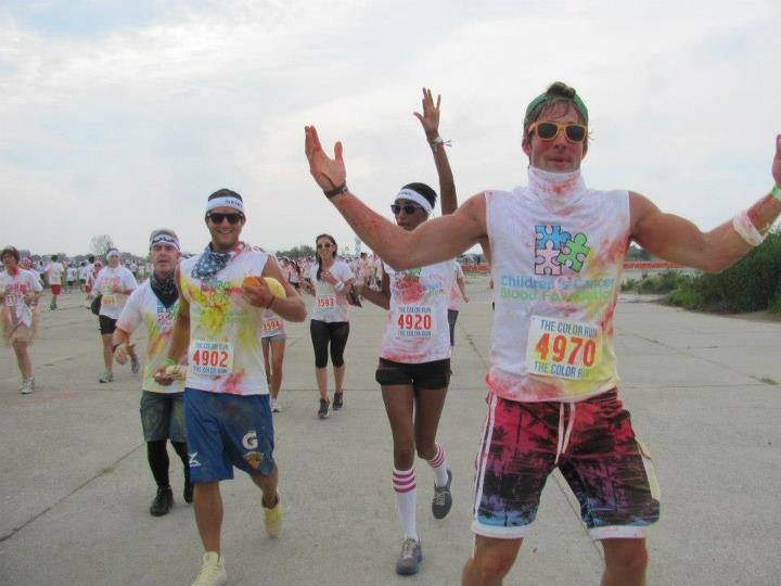 A great post about team CCBF and the color run!
