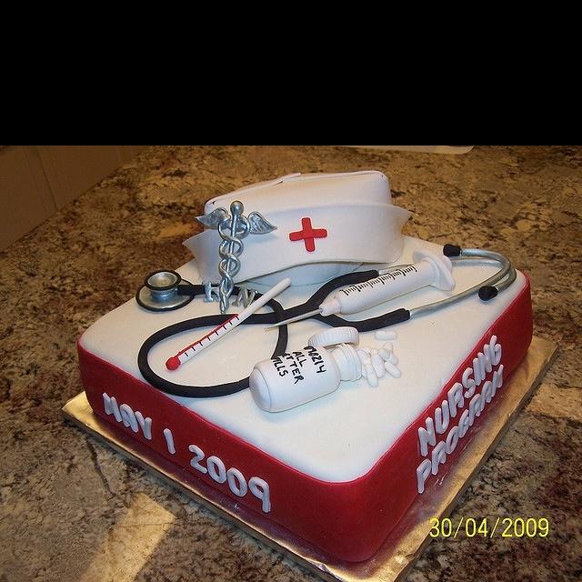 Another Awesome Nurse Cake Nursing Graduation CakesGraduation IdeasGifts For Nurses GraduationRetirement Party