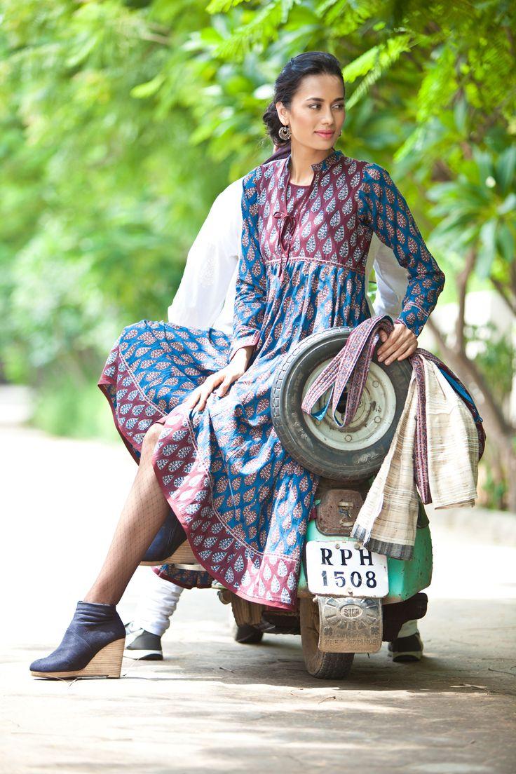 Manchu II - September 2013 #prints #style #India #kurtas