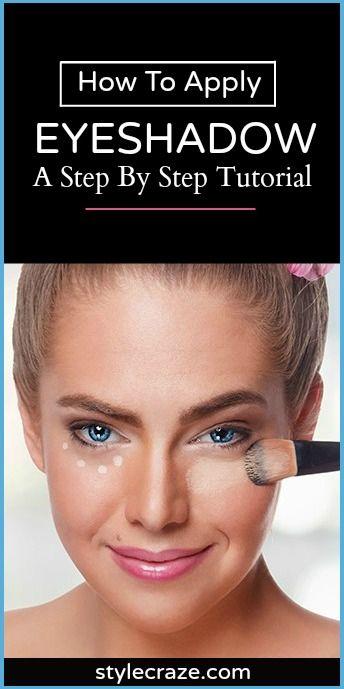 1000+ Ideas About Applying Eyeshadow On Pinterest