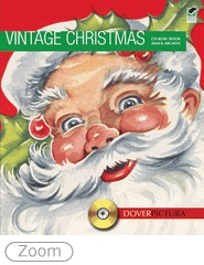 These charming illustrations from Christmases past recapture the holiday spirits of the mid-twentieth century, the Victorian and Edwardian eras, and other historic periods. 360 images bursting with nostalgic appeal, plus templates that make it easy to print and send 72 greeting cards and 20 postcards.