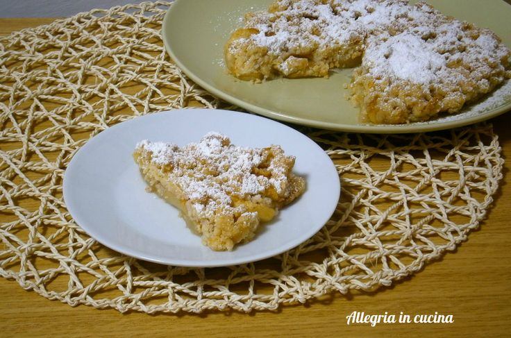 CRUMBLE DI MELE http://blog.giallozafferano.it/allegriaincucina/crumble-di-mele/