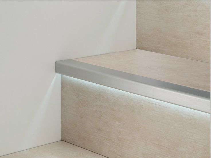 LED aluminium Step nosing PROLIGHT PROSTEP G/8 LED Prolight Collection by PROFILPAS