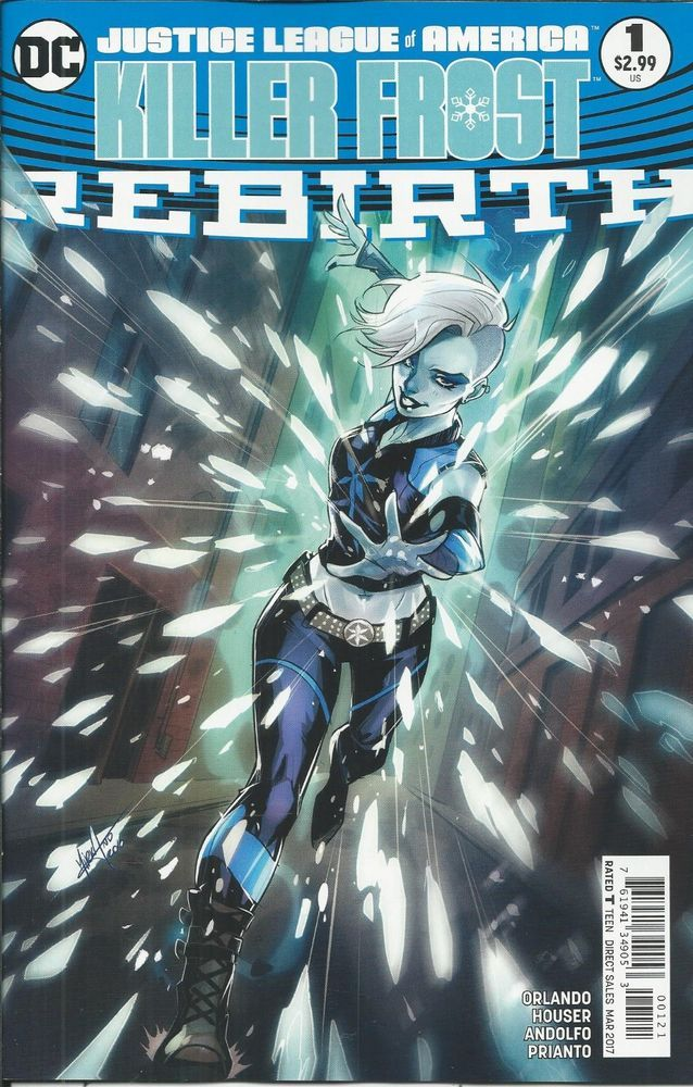 DC Killer Frost Universe Rebirth comic issue 1 Limited variant