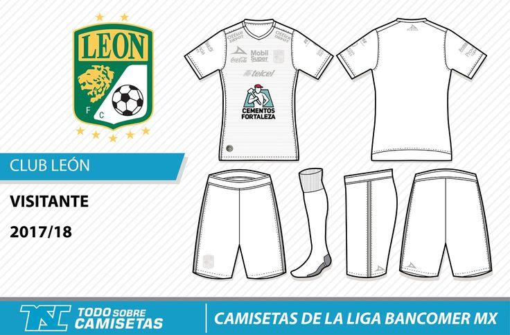 Camisetas de la Liga MX 2017-18 - Club León