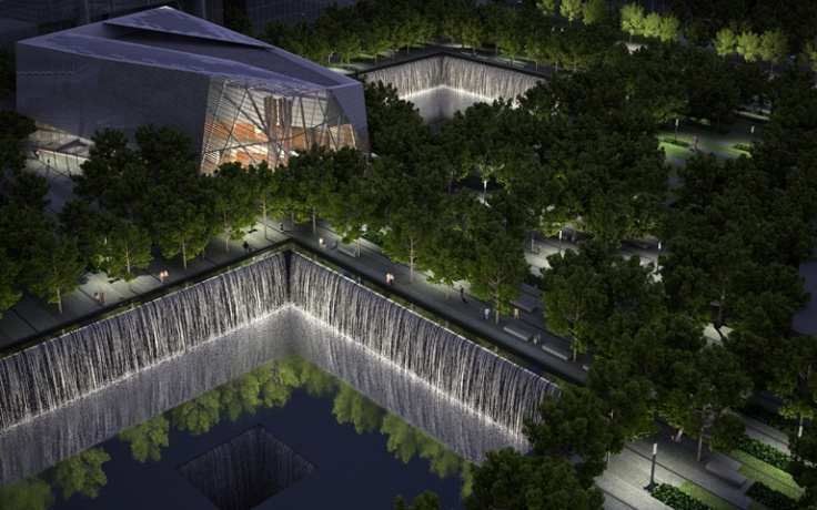 HAVE to go here, looks like such a peaceful place after all of the awful things that happened here. 9/11 memorial NY