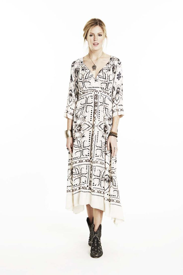 Odd Molly pancho dress 715T-512 | FW15 Lookbook | Long dress | Tribute collection