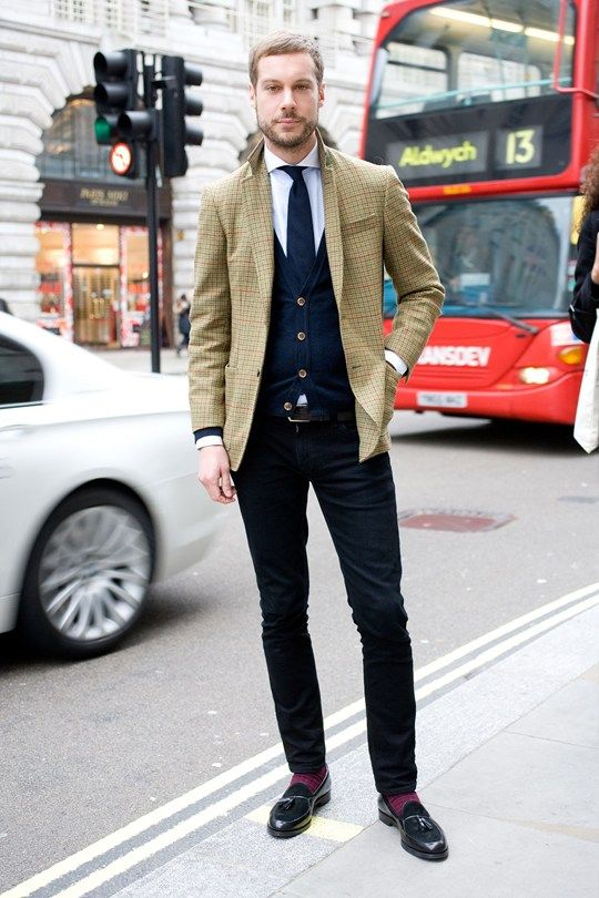 London Collections Men Street Style Ben Curry Harrods