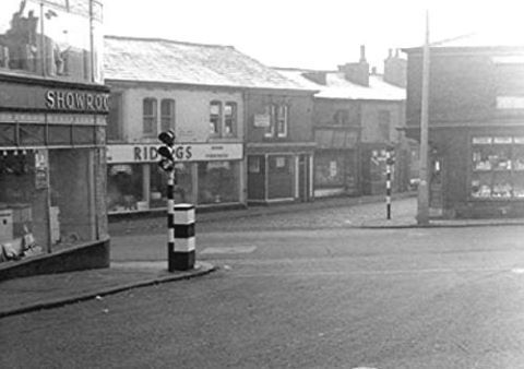 Radcliffe Sion Street View from Deansgate 1963
