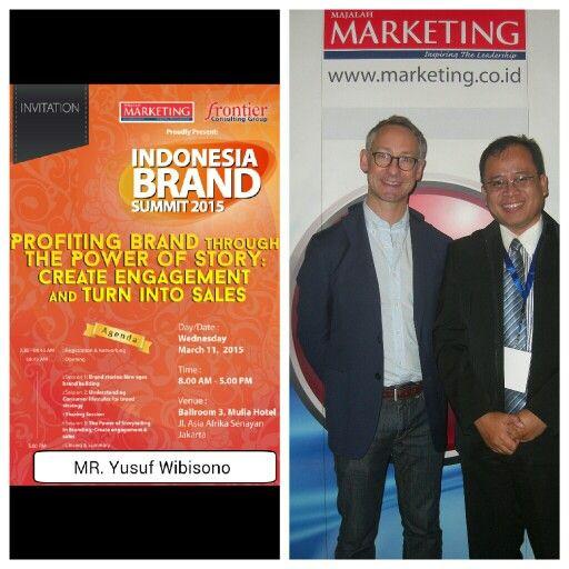 Indonesia Brand Summit 2015
