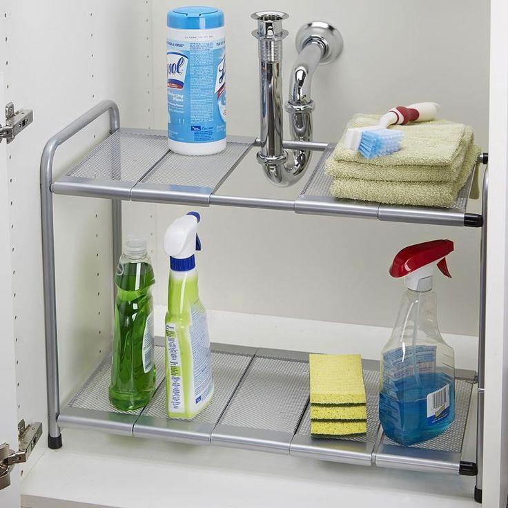 Kitchen Sink Storage: 1000+ Ideas About Under Sink Storage On Pinterest