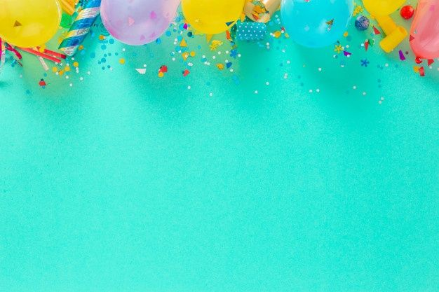 Download Birthday Cupcake With Candle On Blue Background For Free