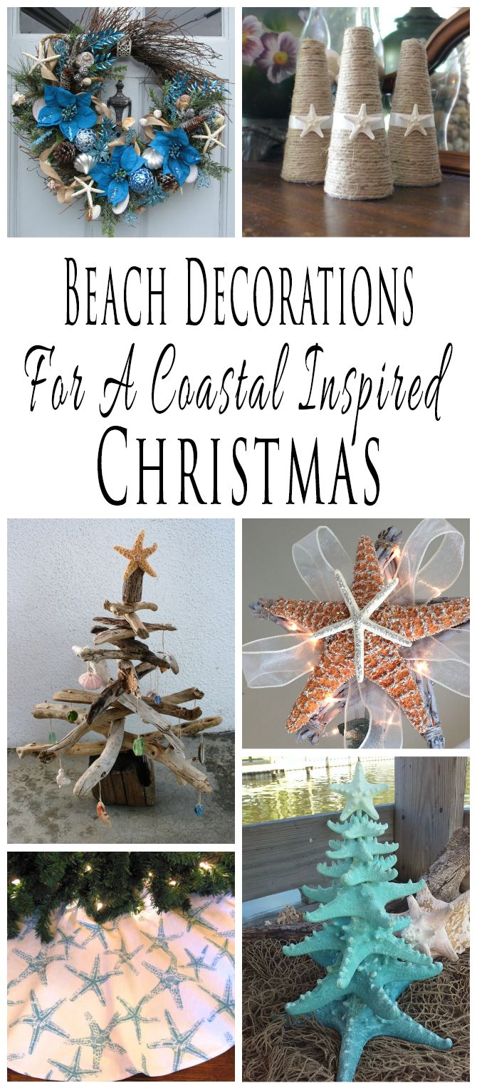 Beach decor adirondack chair beach christmas ornaments nautical -  Handmade Beach Themed Christmas Decorations And Decor For A Coastal Inspired Christmas