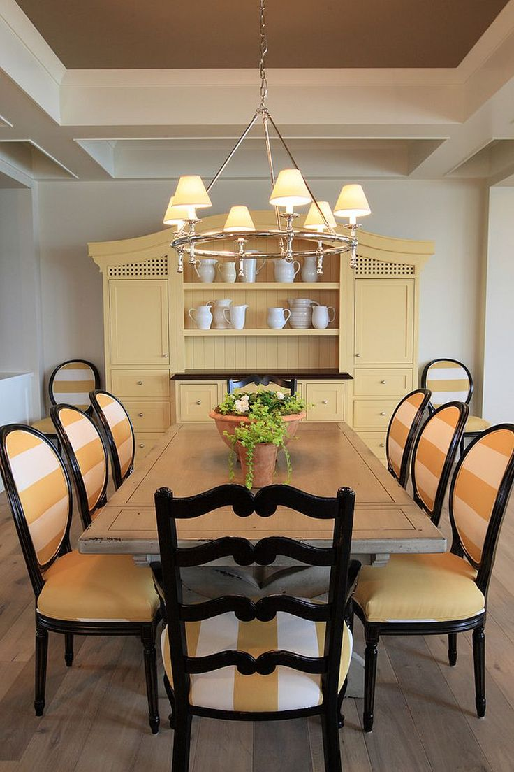 1000 ideas about traditional dining rooms on pinterest for Yellow dining room ideas