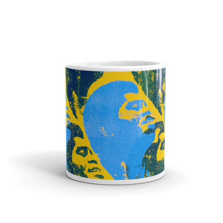 "James Brown ""Godfather Mug""  For more available art or art requests visit https://blakejamieson.com/ #art #myart #instaart #cup #mug #jamesbrown #godfather #music"