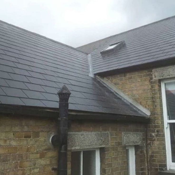 Slate and Velux Window in Limerick