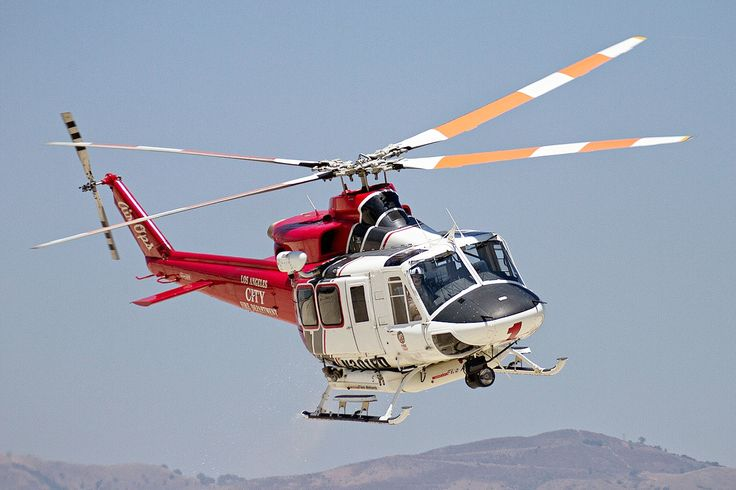 Bell 412 is a twin-engine utility helicopter manufactured by Bell Helicopter. It is a development of the Bell 212 with the major difference being the composite four-blade main rotor. Over 700 Model 412s (including 260 by AgustaWestland) have been built.