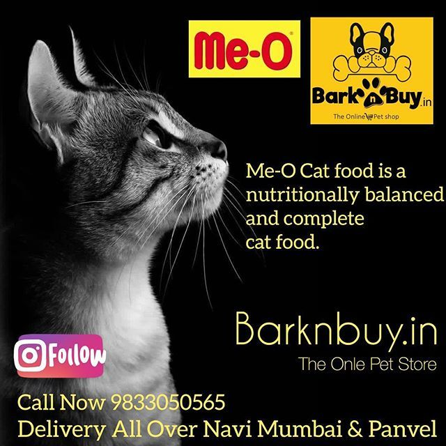 Me O Cag Food Is Nutritionally Balanced Complete Cat Food Meo Catfood Barknbuy Thailand Nutrition Catsofi Cat Food Cats Online Pet Store