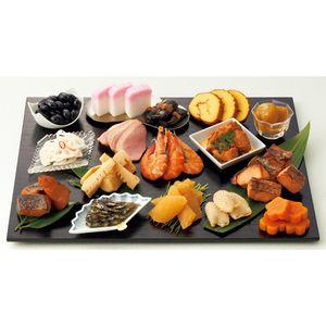 "Japanese new year food ""osechi"" . お好きな器で自由な演出を。【浅田屋】おせち料理 パック"