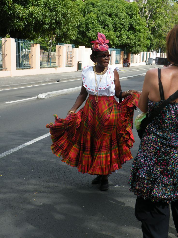 Madras Dress In 2019  Caribbean Art, French West Indies -5071