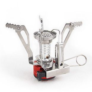 Outdoor Portable Stove Mini Electronic Camping Gas Stove with Box