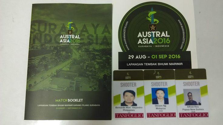 #Australasia2016 #internationalevent #bukutamudigital #multidayevent #anyevent #namebadge